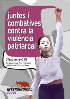 Juntes i combatives contra la violència patriarcal
